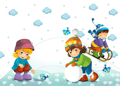 Cold and Raw The North Wind Doth Blow (Winter-song) - Nursery rhyme - Winter Song