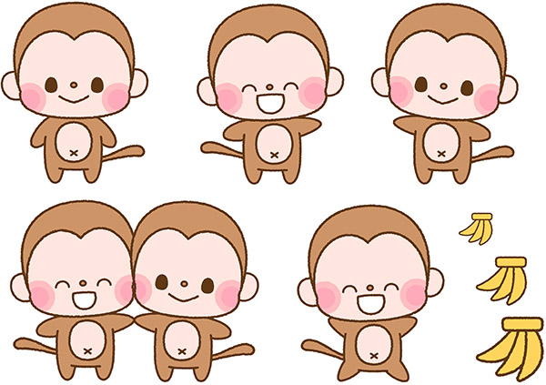 Five Little Monkeys - Nursery rhyme - Music, tune and lyrics
