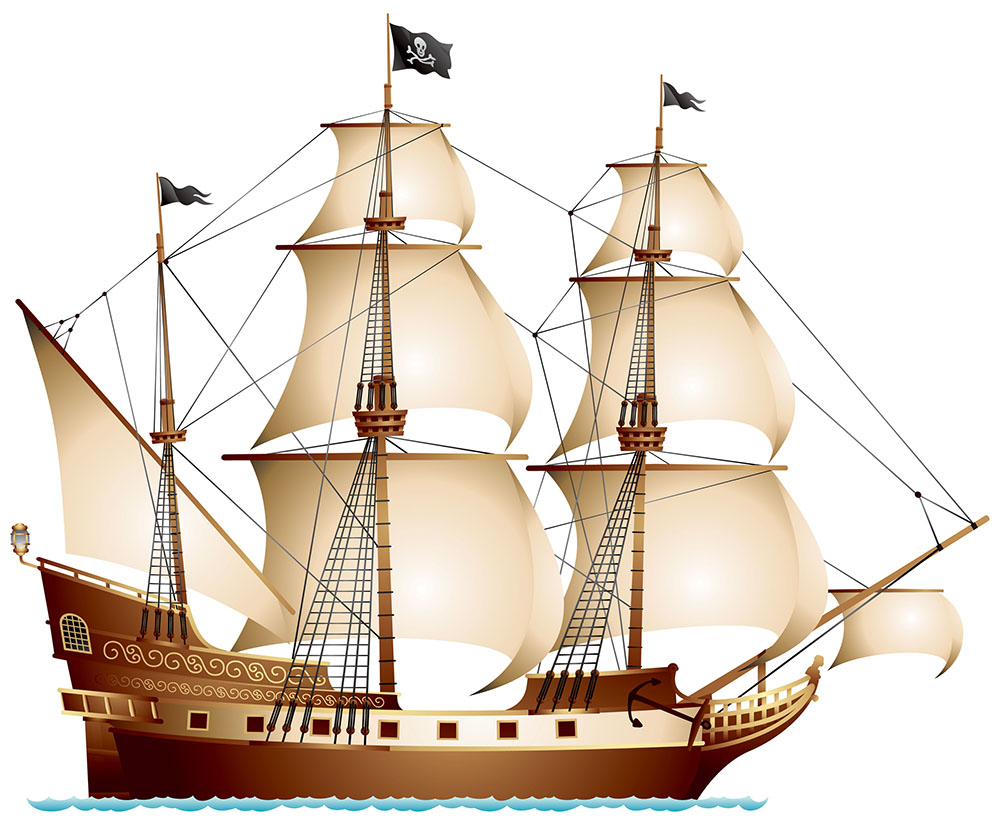 I saw a ship a-sailing - Nursery rhyme - Music, tune and lyrics