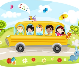 The Wheels On The Bus - Nursery rhyme - Music, tune and lyrics